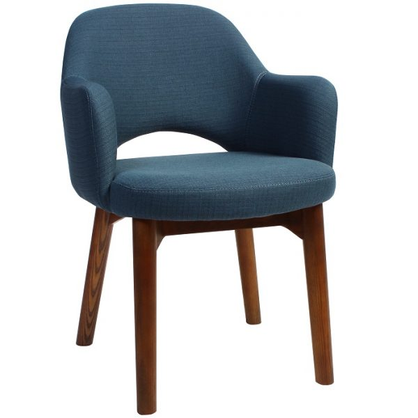Albany Arm Chair - Timber Base