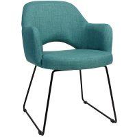 Albany Arm Chair - Sled Base