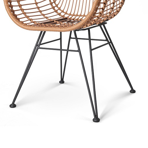 Artie Wicker Dining Armchair