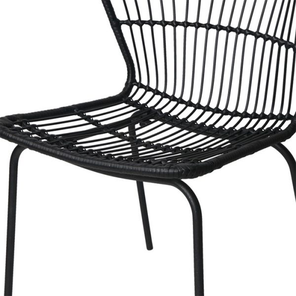 Artie Wicker Dining Chair