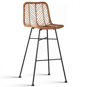 Artie Wicker Side Barstool