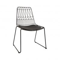 Aztec Chair (Black Wire Chair)