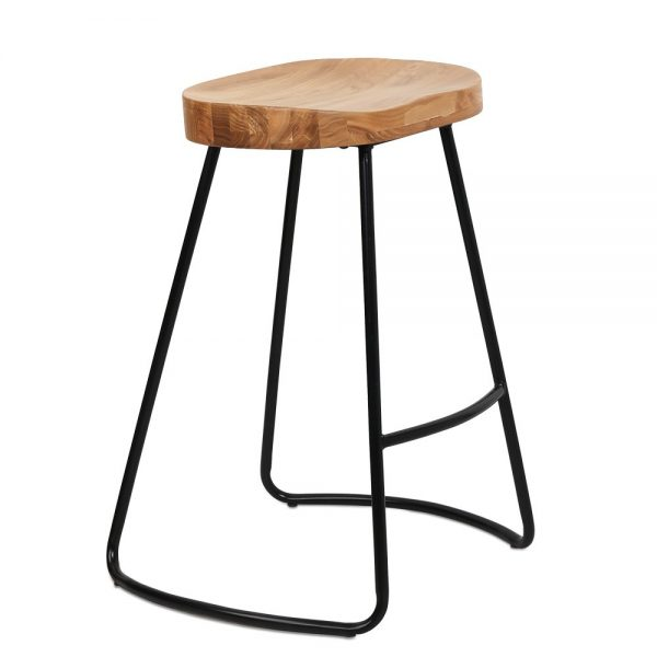 Cargo Wooden Bar Stool 650H
