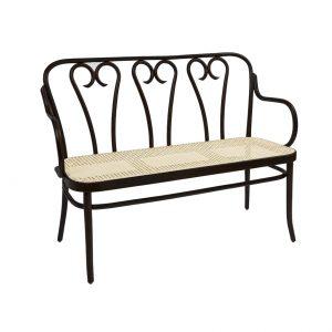 Bentwood Love Seat - Cane Seat