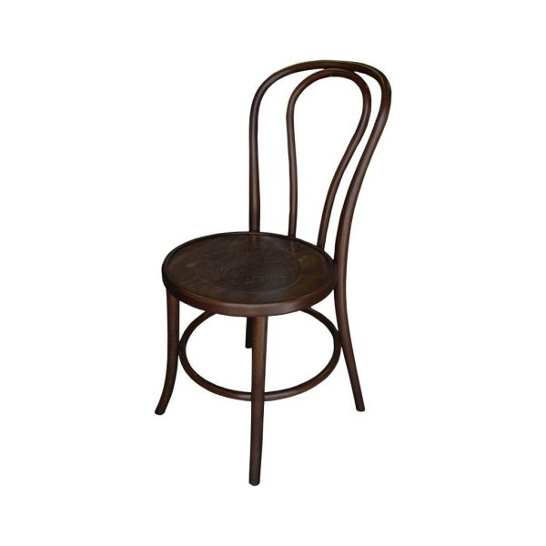 Bentwood Chair Stackable Stained Wenge