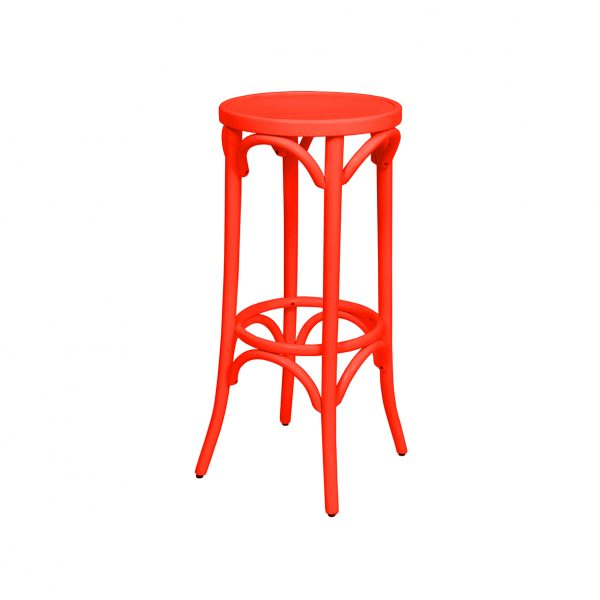 Bentwood Stool 800H Coloured