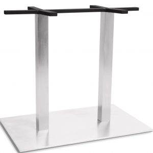 Bistro Twin Table Square Base