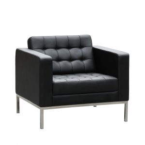 Como Lounge leather seat