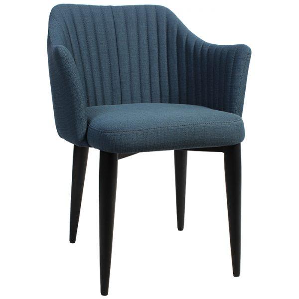 Coral Arm Chair - Metal Base