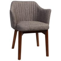 Coral Arm Chair - Timber Base