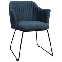 Coral Arm Chair - Sled Base