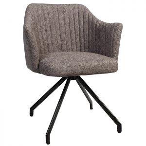Coral Armchair - Trestle Base Grey