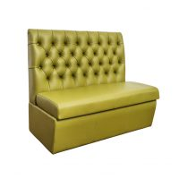Diamond Button Cafe Banquette Seating (sofa for restaurant wholesale)