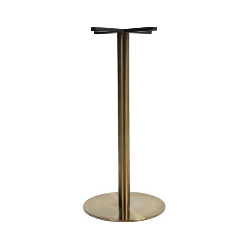 Brass Dry Bar Table Base 450