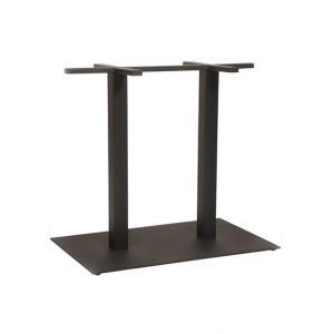 Dunhill Table Base Black Rectangle 800x500