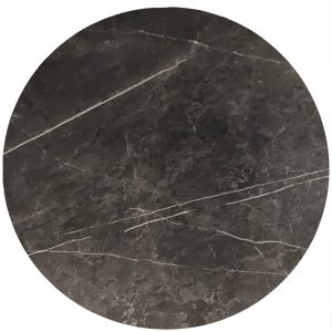 Melamine Table Top Round Marble 600mm