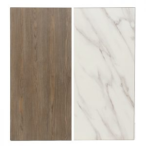 EZTOP Reversible 1200x800mm - Marble/Ash