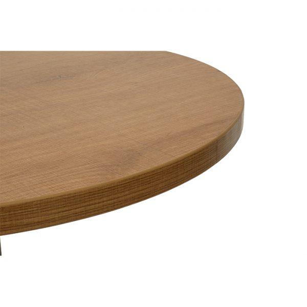EZTOP Round 600mm - Light Oak