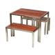Kane Set (outdoor bar table set)