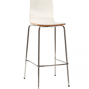 Lily High Stool Timber