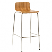 Lily Low Stool Timber