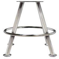Cairo Gaming Stool - 4-Leg base Stainless Steel