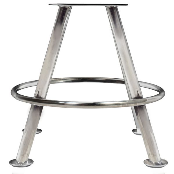 Cairo Gaming Stool - 4-Leg base Stainless Steel