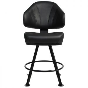 Luxor Gaming Stool - 4-Leg base black