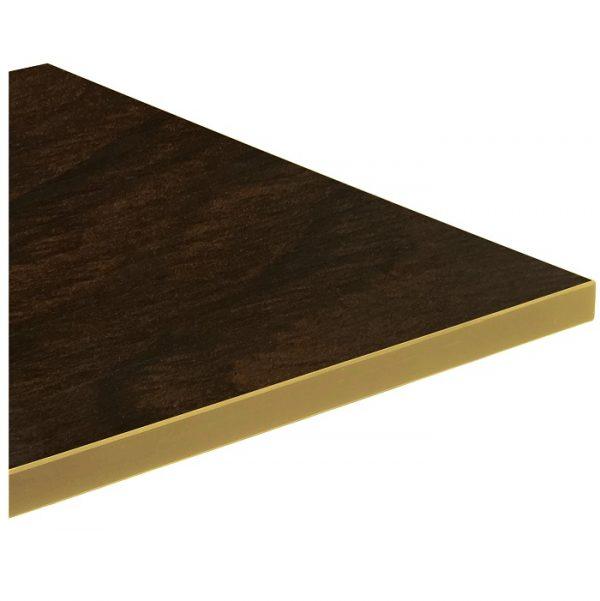 Melamine Top Brass Edge - 800x600mm