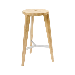 Milka Timber Stool 700 Oak Bar Stool