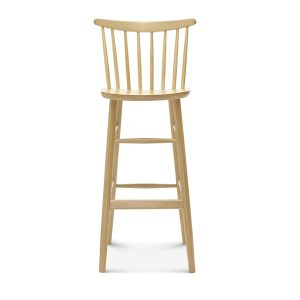 Spoke Back Stool