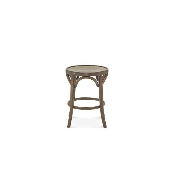 Bentwood Stool 460H Stained