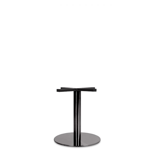 Toledo Table Base - 430mm - black Chrome