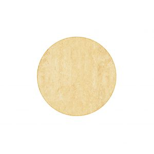 SM France Resin Table Top - Travertine, Round