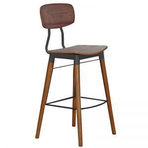 Vintage Stool french metal bar stools