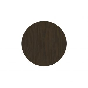 SM France Resin Table Top - Wenge, Round