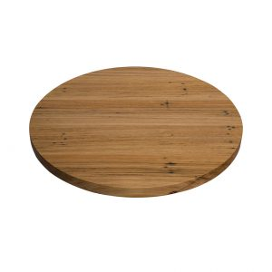 Wormy Chestnut Top - Round