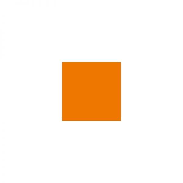 SM France Resin Table Top Square Orange