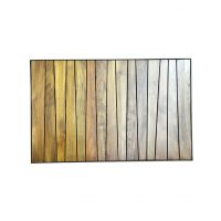 Burmese Teak Top - Rectangle (best wood for table top