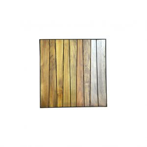Burmese Teak Top - Square