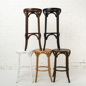 Bentwood stool