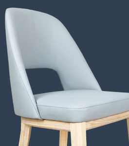 custom leather dining chairs Beige, Black, Chocolate, Grey, Latte, Mushroom, Navy Blue, Powder Blue, Red, Saddle Brown, White