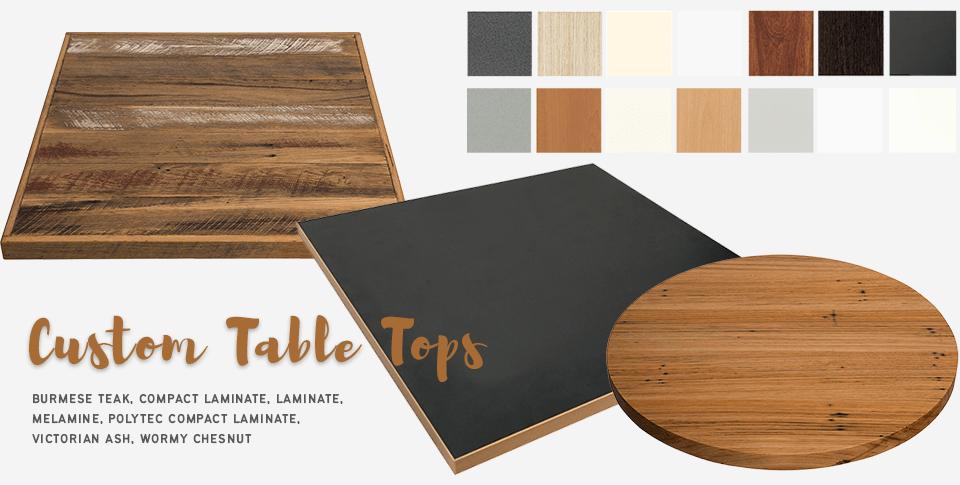 custom table tops